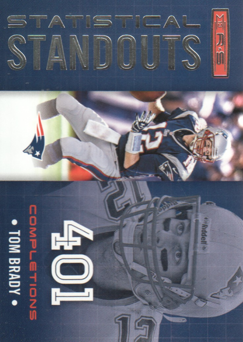 2013 Rookies and Stars Statistical Standouts #12 Tom Brady