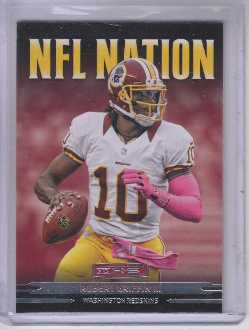 2013 Rookies and Stars NFL Nation #6 Robert Griffin III