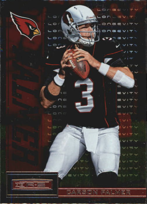2013 Rookies and Stars Longevity Parallel #3 Carson Palmer