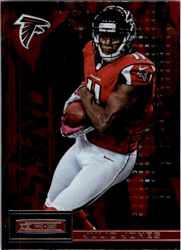 2013 Rookies and Stars Longevity Parallel #5 Julio Jones