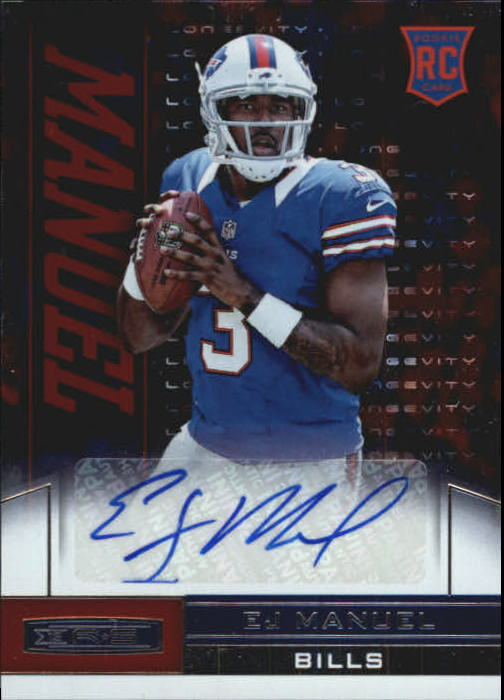 2013 Rookies and Stars Rookie Autographs Longevity #130 EJ Manuel