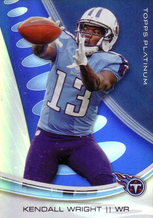 2013 Topps Platinum Sapphire #36 Kendall Wright