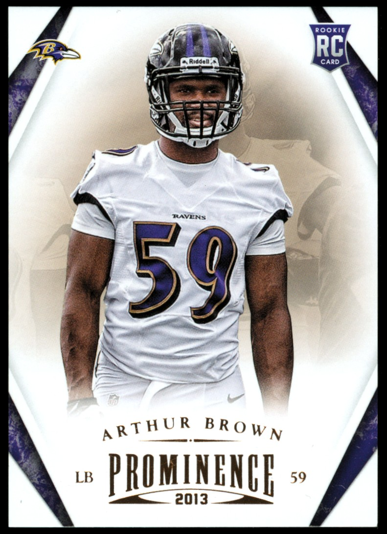 2013 Panini Prominence #108 Arthur Brown RC