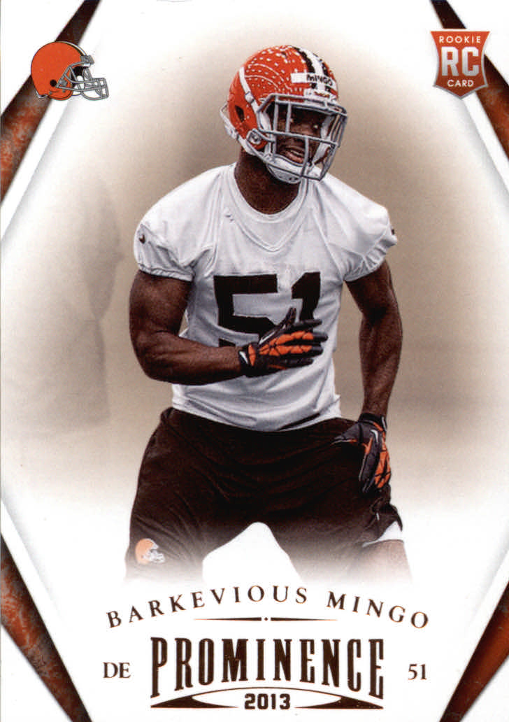 2013 Panini Prominence #109 Barkevious Mingo RC