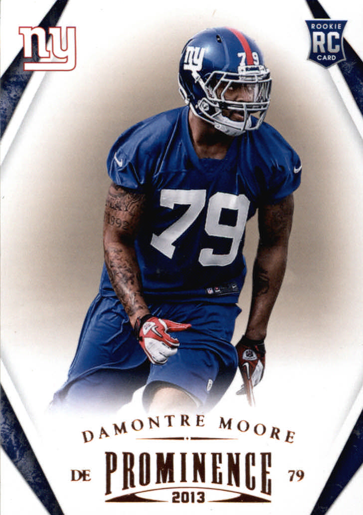 2013 Panini Prominence #120 Damontre Moore RC