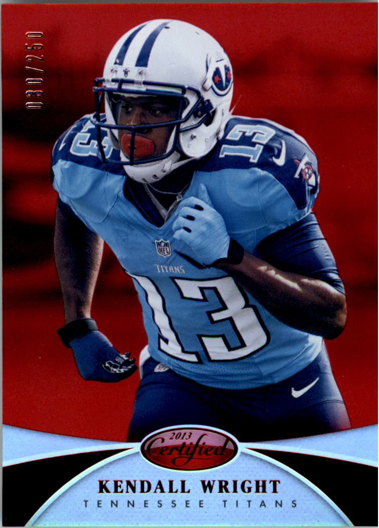 2013 Certified Mirror Red #36 Kendall Wright