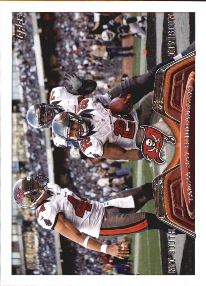 2013 Topps Mini #323 Tampa Bay Buccaneers/Doug Martin/Dallas Clark