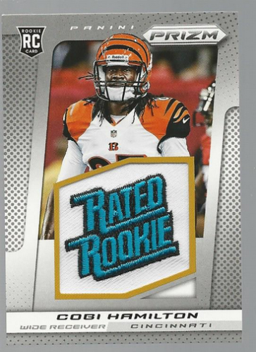 2013 Panini Prizm Rated Rookie Patches #214 Cobi Hamilton