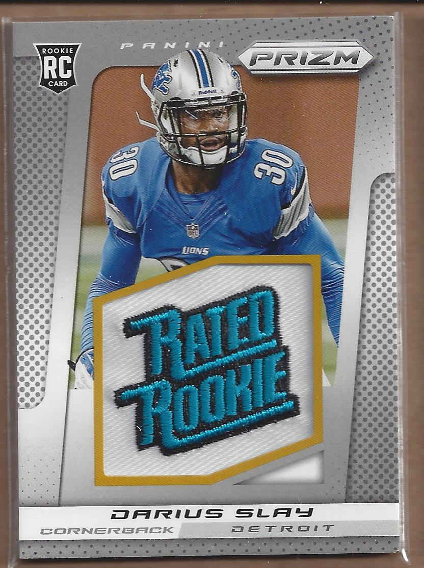 2013 Panini Prizm Rated Rookie Patches #222 Darius Slay