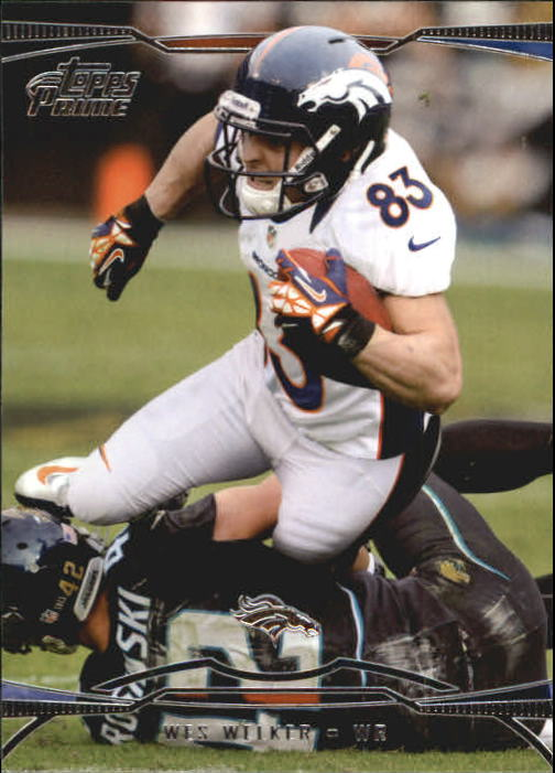 2013 Topps Prime Retail #56 Wes Welker