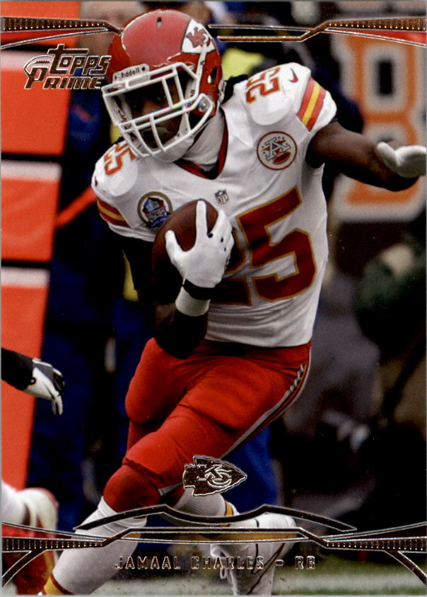 2013 Topps Prime Retail #60 Jamaal Charles