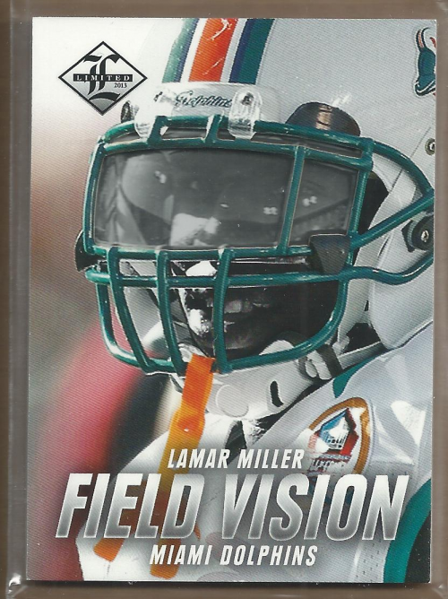 2013 Limited Field Vision #2 Lamar Miller