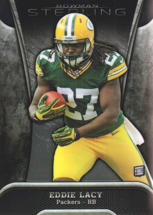 2013 Bowman Sterling #64 Eddie Lacy RC