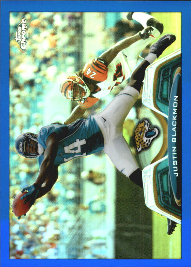 2013 Topps Chrome Blue Refractors #173 Justin Blackmon