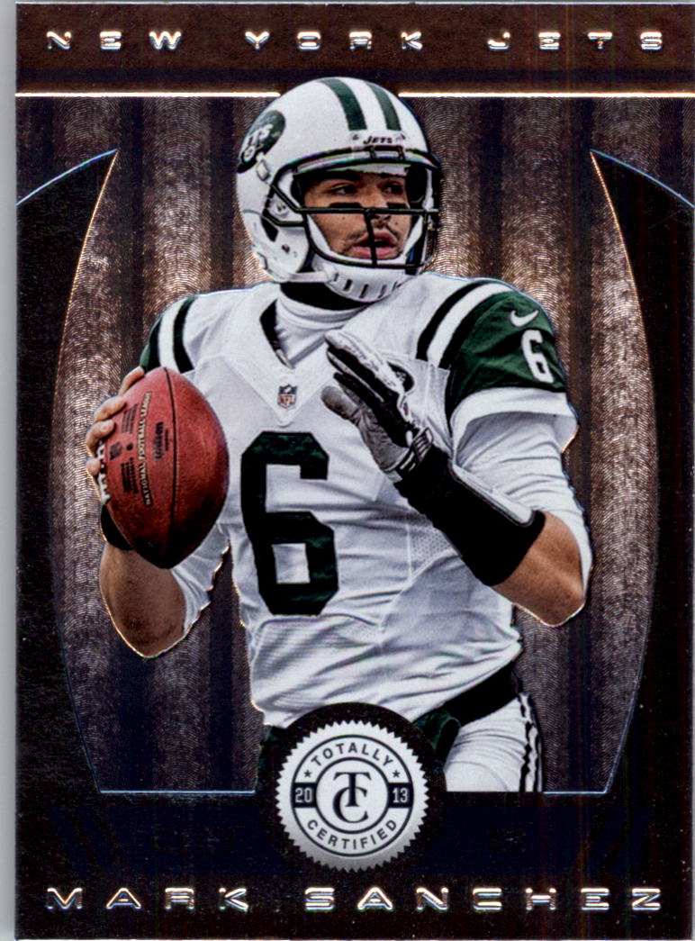 2013 Totally Certified #35 Mark Sanchez