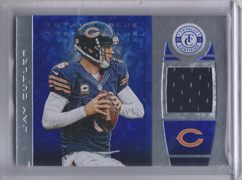 2013 Totally Certified Blue Materials #33 Jay Cutler/99