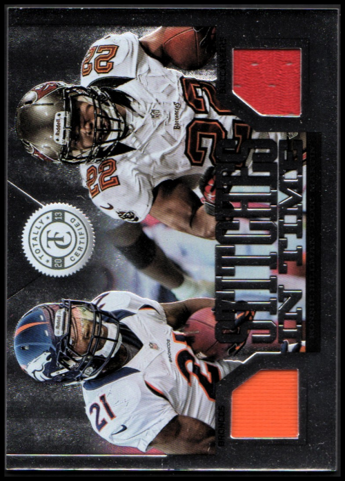 2013 Totally Certified Stitches in Time #34 Doug Martin/Ronnie Hillman/299