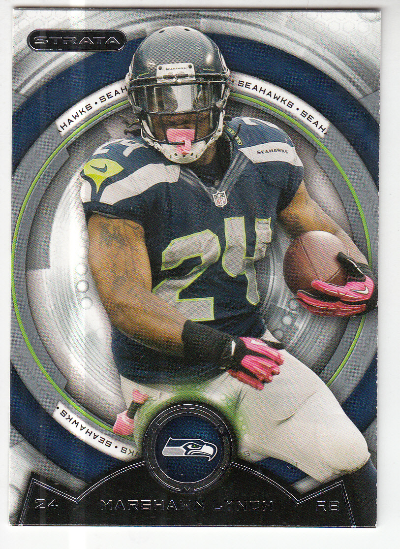 2013 Topps Strata #93 Marshawn Lynch
