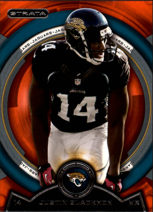 2013 Topps Strata Orange #21 Justin Blackmon
