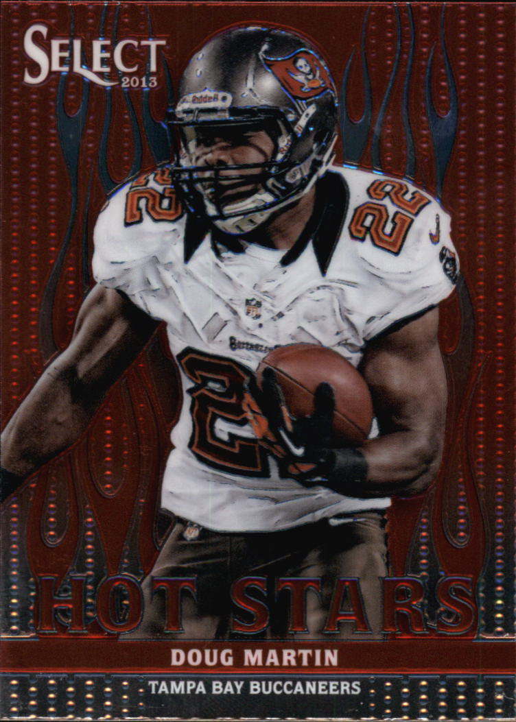 2013 Select Hot Stars Red #27 Doug Martin