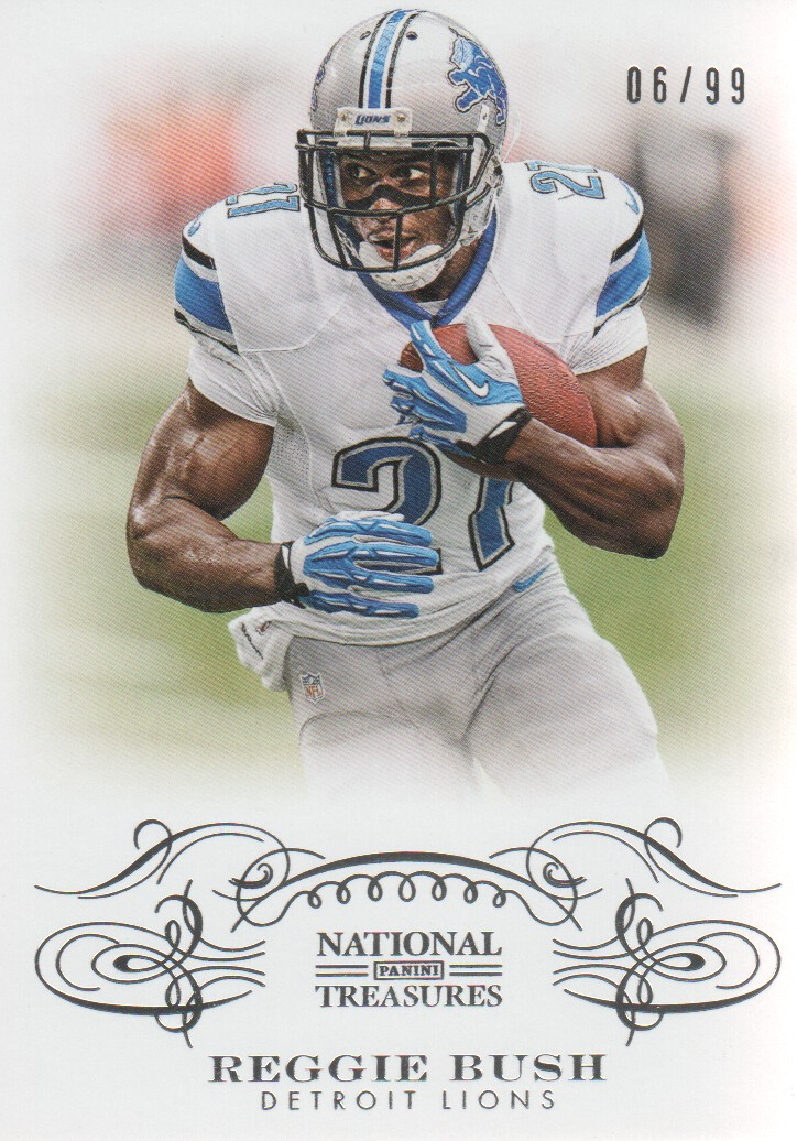 2013 Panini National Treasures #37 Reggie Bush
