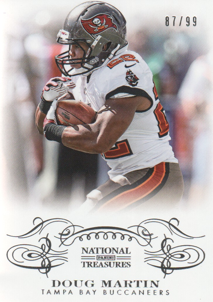 2013 Panini National Treasures #93 Doug Martin
