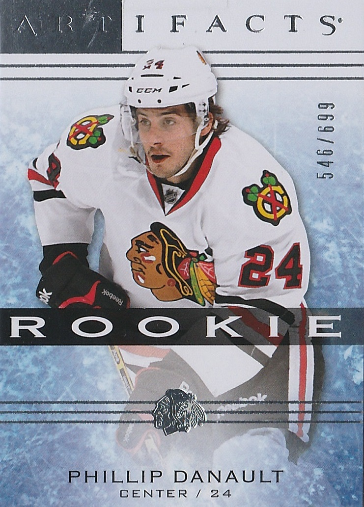 2014-15 Artifacts #187 Phillip Danault RC