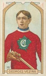 1911-12 C55 #38 Georges Vezina RC