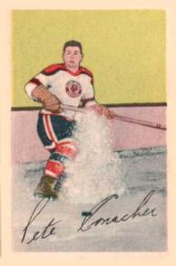 1952-53 Parkhurst #33 Pete Conacher RC
