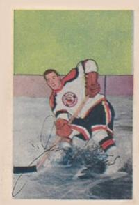1952-53 Parkhurst #35 Jim Peters