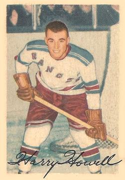 1953-54 Parkhurst #57 Harry Howell RC