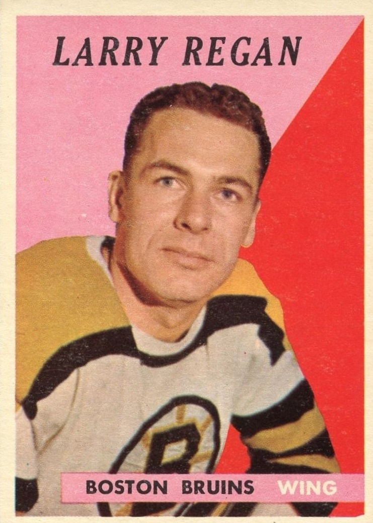 1958-59 Topps #10 Larry Regan