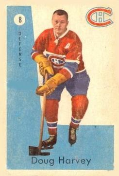 1959-60 Parkhurst #8 Doug Harvey