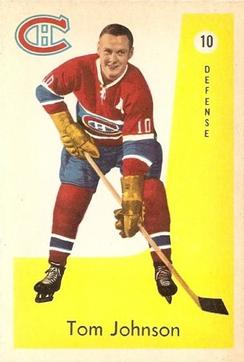 1959-60 Parkhurst #10 Tom Johnson