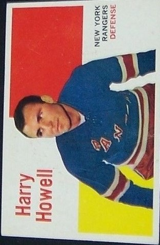 1960-61 Topps #49 Harry Howell