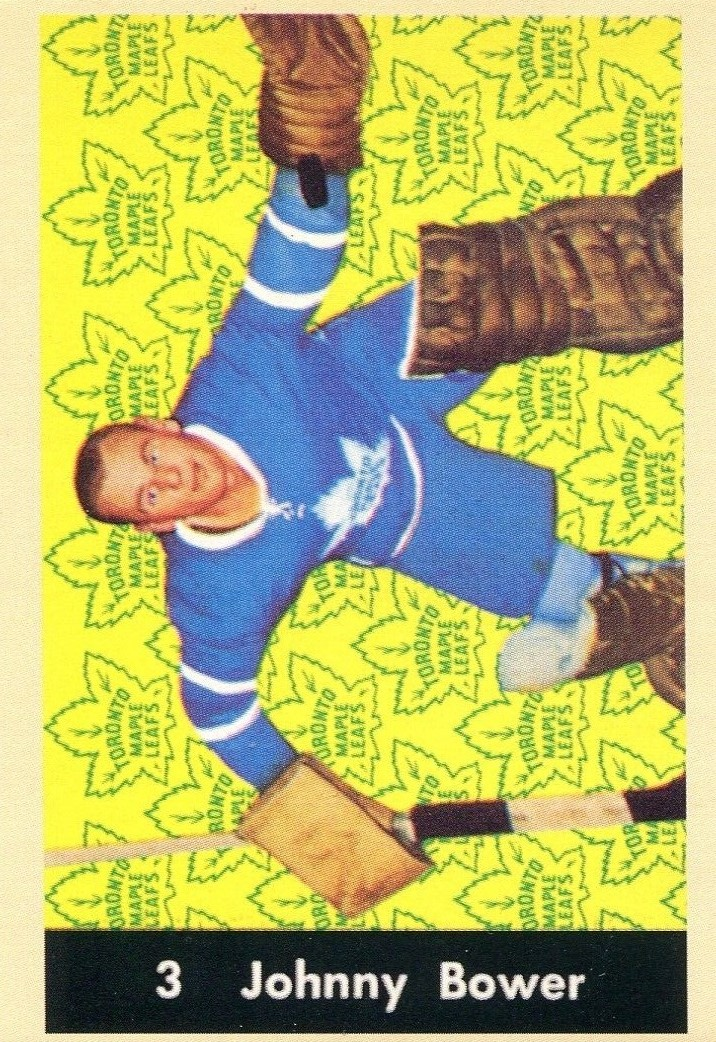 1961-62 Parkhurst #3 Johnny Bower