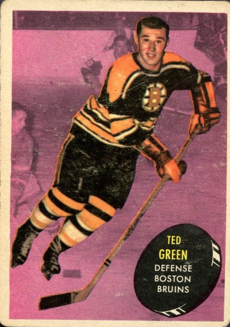 1961-62 Topps #2 Ted Green RC
