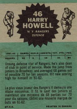 1962-63 Topps #46 Harry Howell