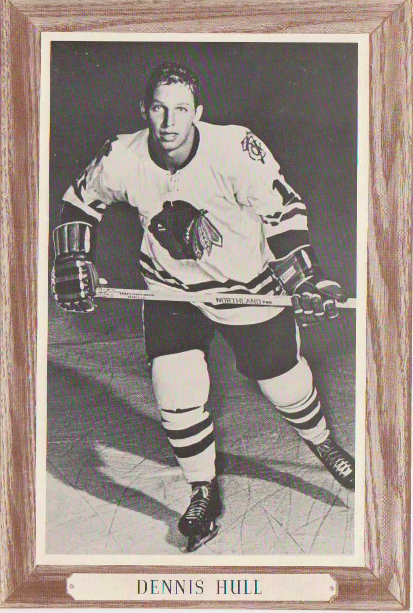 1964-67 Beehive Group III Photos #42 Dennis Hull