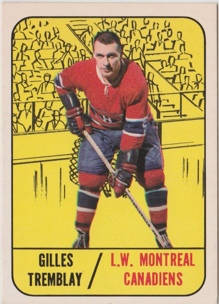 1967-68 Topps #5 Gilles Tremblay