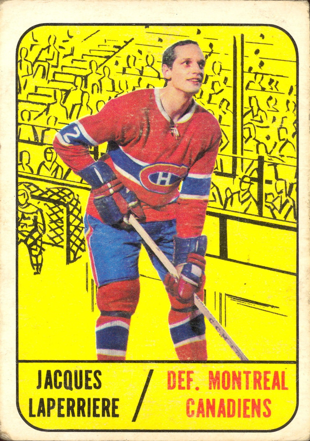 1967-68 Topps #7 Jacques Laperriere