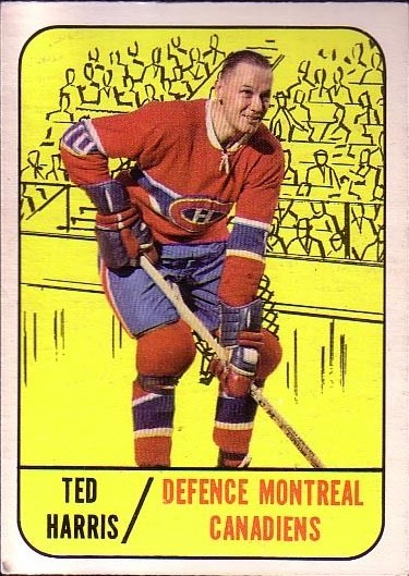 1967-68 Topps #10 Ted Harris