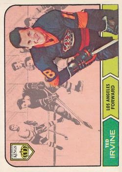 1968-69 O-Pee-Chee #39 Ted Irvine RC