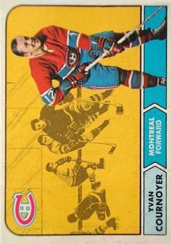 1968-69 O-Pee-Chee #62 Yvan Cournoyer