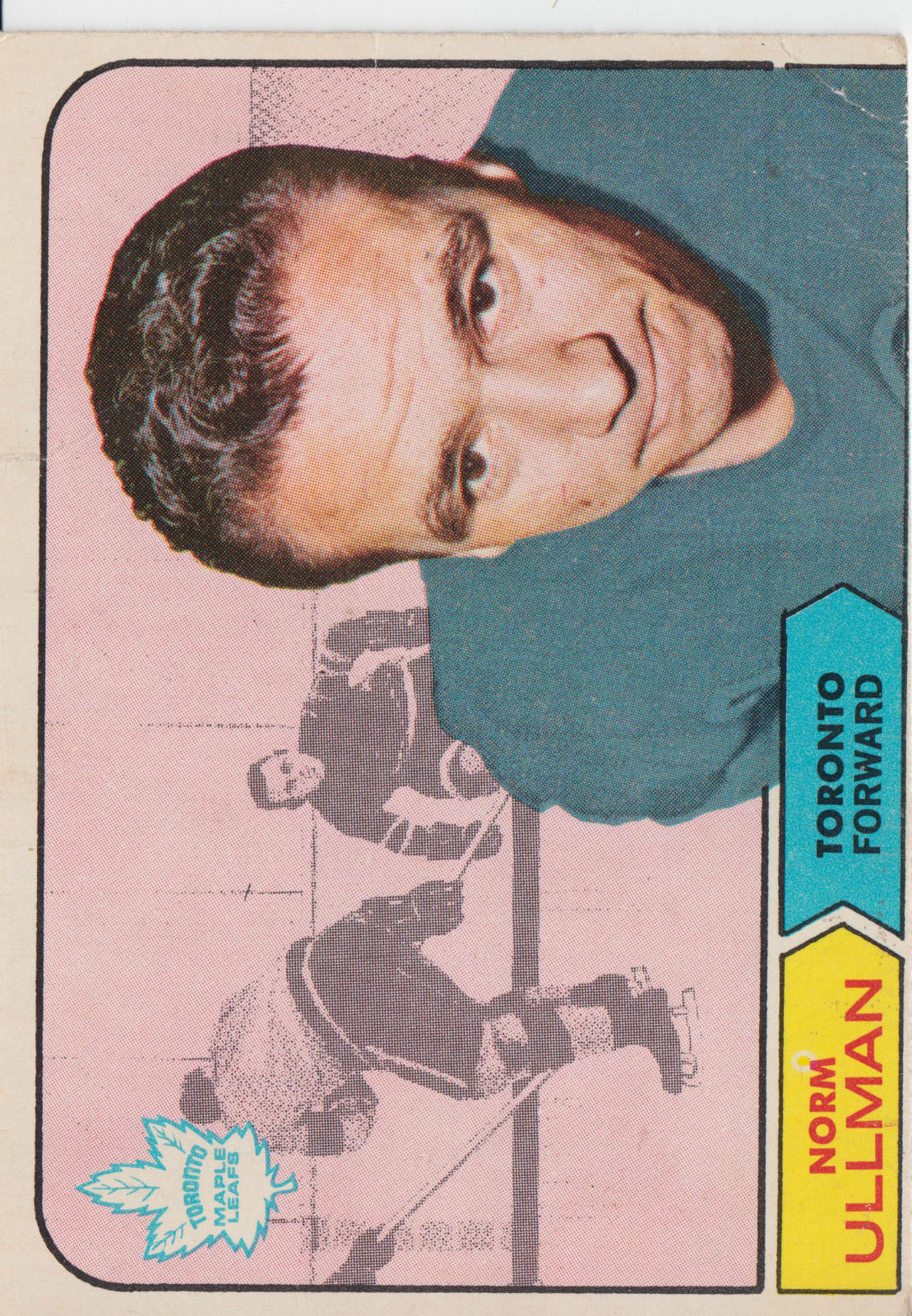 1968-69 Topps #131 Norm Ullman