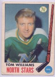 1969-70 O-Pee-Chee #128 Tom Williams