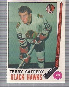 1969-70 O-Pee-Chee #135 Terry Cafery RC