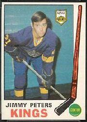 1969-70 O-Pee-Chee #143 Jimmy Peters RC