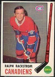 1969-70 O-Pee-Chee #166 Ralph Backstrom
