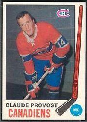 1969-70 O-Pee-Chee #167 Claude Provost